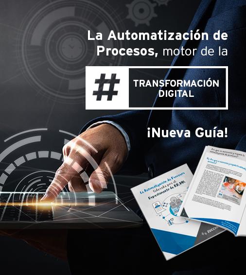 La Automatización de Procesos liderada por el Dpto. de RR.HH.