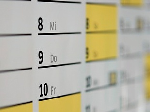 calendario registro horario
